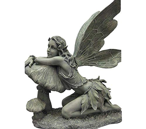 cute outdoor fairy figurine
