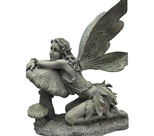 cute outdoor fairy figurine