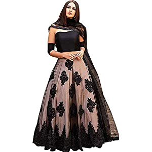 Suppar Sleave Women's Satin & Net Lehenga Choli