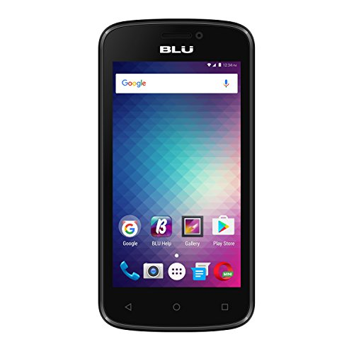 BLU Advance 4.0M Unlocked GSM Dual-SIM Quad-Core Android Marshmallow Smartphone - Black (Certified Refurbished) by BLU