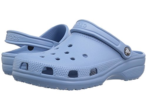 Crocs Women's Classic Mule Chambray Blue - 6 US Men 8 US Women M US