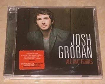 josh groban all that echoes deluxe
