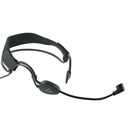 Av-jefes CM518LS Headband Headset Microphone with 3.5mm Lock-Screw Connector by AV-JEFES