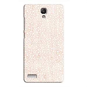 Cover It Up - Orange Pebbles Mosaic Redmi Note 4G Hard Case