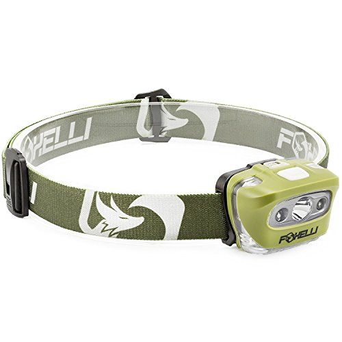 Foxelli Headlamp Flashlight Lightweight Waterproof product image