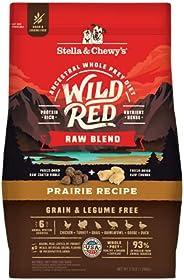 Stella & Chewy's Wild Red Dry Dog Food Raw Blend High Protein Grain & Legume Free Prairie Recipe,