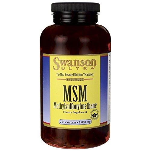 Swanson Msm 1000 mg 240 capsules