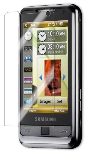 Samsung Omnia Screen Protector, IQ Shield LiQuidSkin Full Coverage Screen Protector for Samsung Omnia (i900) HD Clear Anti-Bubble Film - - I900 Lcd