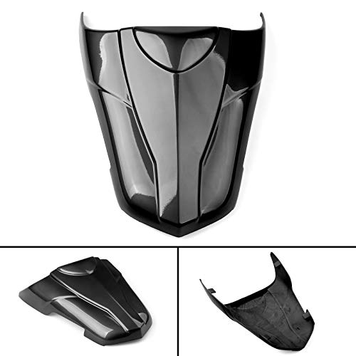 (Artudatech ABS Rear Seat Cover Cowl For Suzuki 2017-2018 SV650 Black)