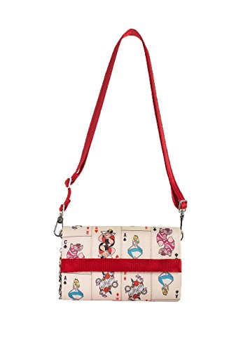 Harveys Seatbelt Bag Women's Streamline Wallet Queen Of Hearts Cross Body - Queen Of Hearts Purse
