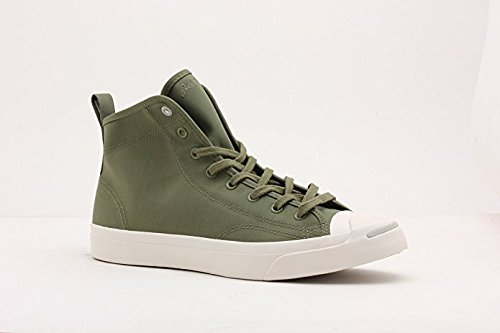 8af9437df31f90 Converse Mens Jack Purcell Mid Military Green 147819C 8  Amazon.ca ...