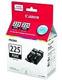Canon Genuine PGI-225 Black Twin Ink Value Pack 4530B014