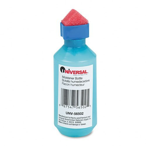 Universal 56502 - Squeeze Bottle Moistener, 2 oz, Blue by Universal®