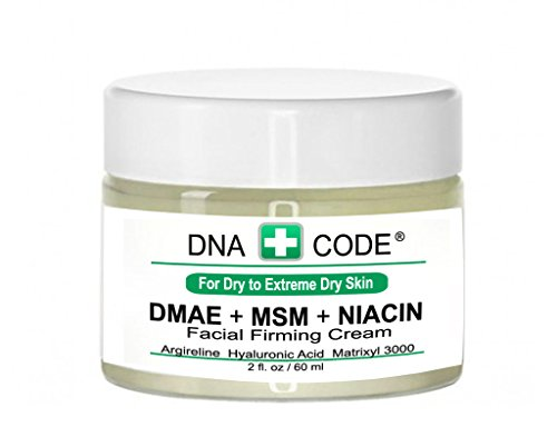 For Dry Skin-Natural Organic DMAE+MSM+NIACIN Firming Cream,
