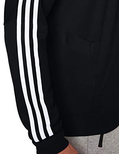 adidas Herren TIRO19 TR JKT Sport Jacket, Black/Black/White, M 3