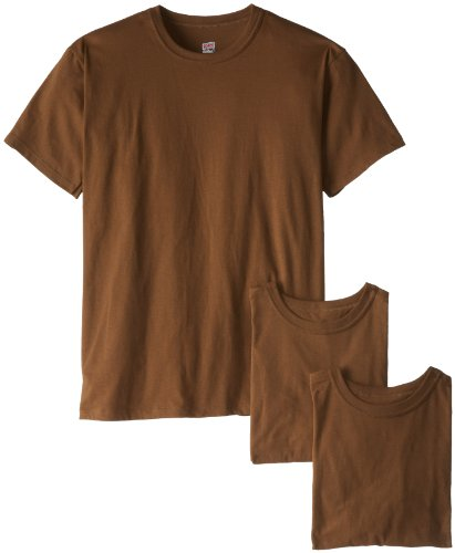 - Soffe Men's 3 Pack Military T-Shirts Brown Small