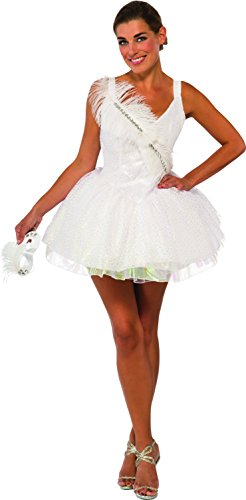 White Swan Halloween Costumes (Rubie's Costume Co Women's White Swan Costume, White, Small)