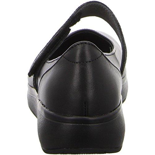 Noir delia noir Joya ballerines pour delia femme Noir black black 1pp0Ew8