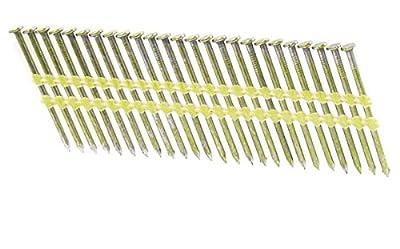 "2 1/2"" x .131 Smooth Brite Strip Nails 21 Degree 4M case by FastenerUSA"