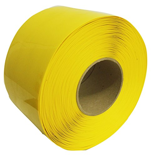 DuraStripe Yellow Deep Freeze Floor Marking Cold Storage Tape 4'' x 100' by DuraStripe