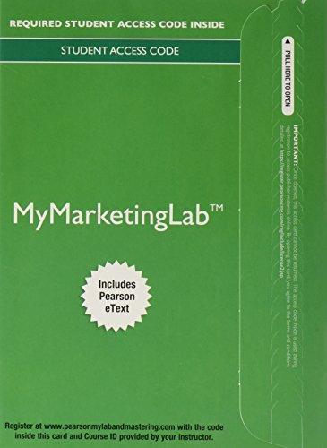 Marketing:Real People...Mymarketinglab