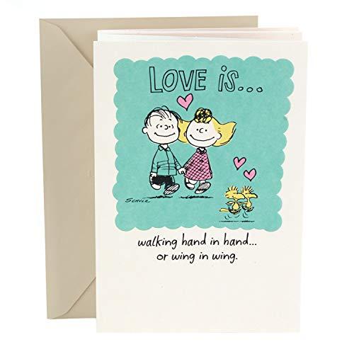 (Hallmark Anniversary Card (Peanuts Vignette) )