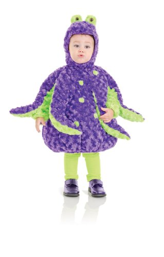 Octopus Plush Belly Toddler Costume