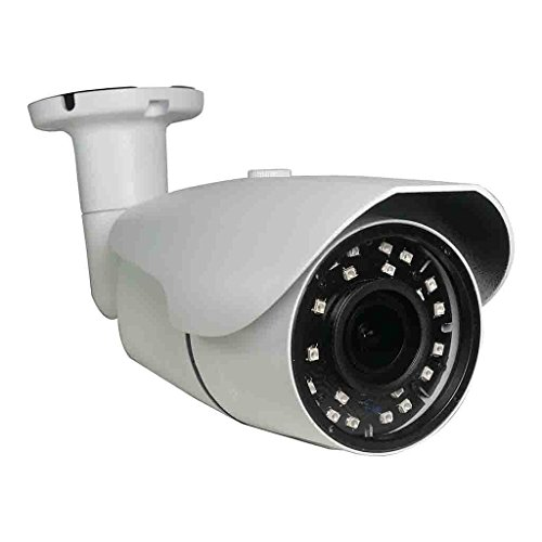 2mp 1080p 4x Optical Motorized Zoom Varifocal IP66 Weatherproof Indoor Outdoor Bullet Camera, 4 in 1, Multi Technology Security Camera HD-TVI, HD-CVI, AHD and Analog 100ft of Infrared (IR) Nightvision (Varifocal Bullet)