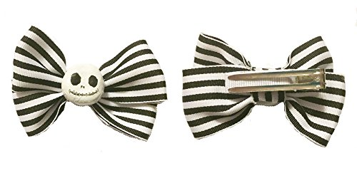 Jack Skellington Hair Bow 1pc product image
