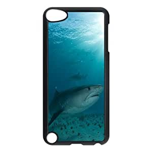 ANCASE Customized Print Deep Sea Shark Pattern Hard Case for iPod Touch 5