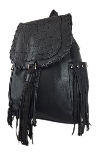 Savvy Street - Bolso mochila  para mujer piedra