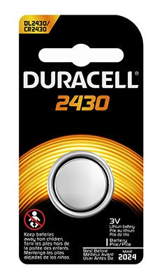 DURA 3V 2430 Battery (Pack of 6) by Duracell Distributing Nc