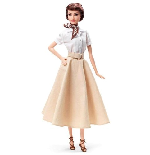 Mattel Barbie X8260 - Puppe Collector Audrey Hepburn, Roman Holiday