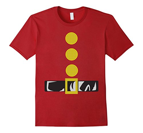 Mens Dwarf Costume T-Shirt Funny Halloween Gift Small Cranberry