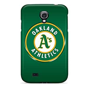 High-quality Durability Cases For Galaxy S4(oakland Athletics)