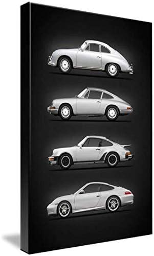 Imagekind Wall Art Print Entitled Evolution of The 911