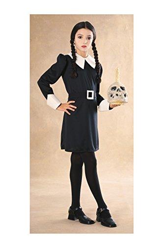 [Wednesday Addams Costume - Medium] (Wednesday Addams Halloween Costumes)