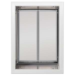 PlexiDor Performance Pet Doors X-Large White Wall Mount
