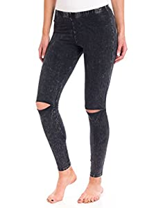 Amazon.com: T Party Knee Cut Out Leggings: Sports & Outdoors