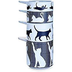 Kitsch'n Glam - Cat Decorative Measuring Cups Set