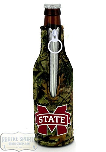 Mississippi State Bulldogs Officially Licensed 12oz Neoprene Bottle Huggie - Camo