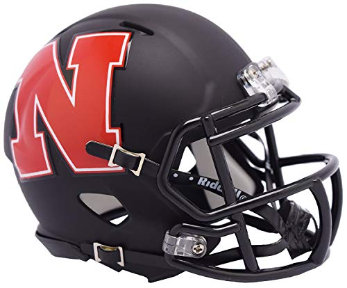 Nebraska Cornhuskers Riddell Speed Mini Football Helmet - 2019 AMP Alternate