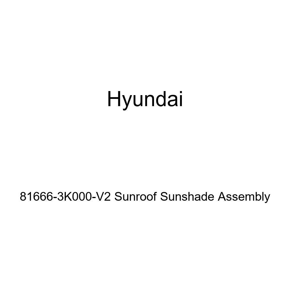 Genuine Hyundai 81666-3K000-V2 Sunroof Sunshade Assembly