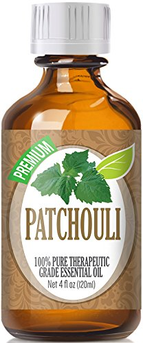 Patchouli Essential Oil - 100% Pure Therapeutic Grade Patchouli Oil - 120ml by Healing Solutions