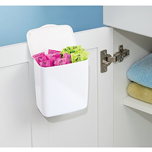 Interdesign Una Tampon Holder For Bathroom Over Cabinet
