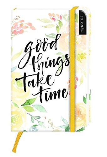 myNOTES: Good things take time
