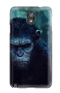 MichelleA Snap On Hard Case Cover Dawn Of The Planet Of The Apes Protector For Galaxy Note 3