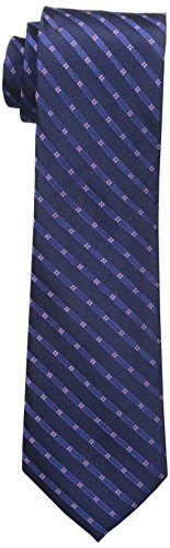 Michael Kors Men's Four Point Tonal Stripe Slim Tie