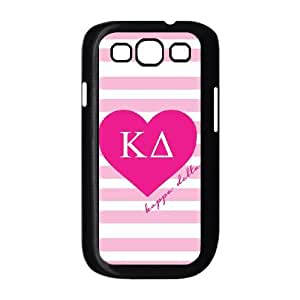 Kappa Delta Pink Stripes Samsung Galaxy S3 9300 Cell Phone Case Black toy pxf005_5758384