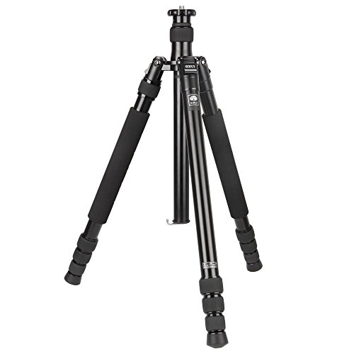 Sirui N-1004KX 4-Section Aluminum Alloy Tripod, 63'' Tripod Max Height, 61.4'' Monopod Max Height, 26.5 lbs Load Capacity by Sirui